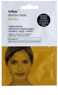 Tołpa Dermo Face Lipidro regenererende sheet mask voor Gezicht, Hals en Decolleté