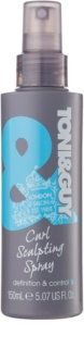 TONI&GUY Classic gel spray per capelli mossi