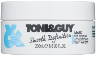 TONI&GUY Smooth Definition maschera lisciante con cheratina