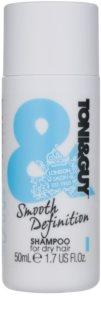 TONI&GUY Smooth Definition glättendes Shampoo für trockenes und ungeschmeidiges Haar