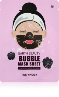 TONYMOLY Earth Beauty Bubble čistiaca pleťová maska