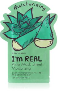 TONYMOLY I'm REAL Aloe Moisturising face sheet mask