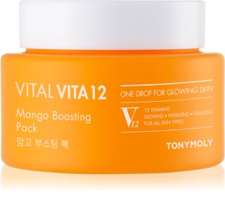 TONYMOLY Vital Vita 12 Mango hydratačná a rozjasňujúca maska