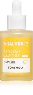 TONYMOLY Vital Vita 12 Synergy Ampoule Intensiv-Serum zur Verjüngung der Gesichtshaut