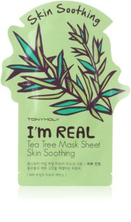 TONYMOLY I'm REAL Tea Tree Beroligende ansigts sheetmaske