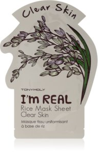 TONYMOLY I'm REAL Rice Brightening Face Sheet Mask