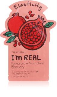 TONYMOLY I'm REAL Pomegranate mascarilla hoja para fortalecer
