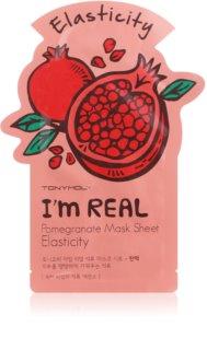 TONYMOLY I'm REAL Pomegranate тканинна маска для зміцнення