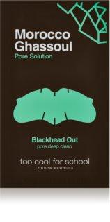 Too Cool For School Morocco Ghassoul Pore Solution čistilni obliž za zamašene pore na nosu