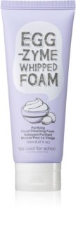 Too Cool For School Egg -Zyme Whipped Foam Cream Cleansing Foam with Moisturizing Effect