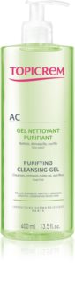 Topicrem AC Purifying Cleansing Gel Deep Cleansing Gel for Oily Sensitive Skin