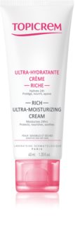 Topicrem UH FACE Rich Ultra-Moisturizing Cream Rich Hydrating Cream for Sensitive and Dry Skin