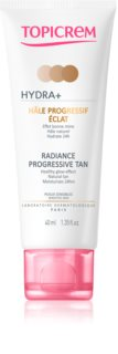 Topicrem UH FACE HYDRA+ Radiance Progressive Tan crema tonica radianta