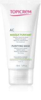 Topicrem AC Purifying Mask глубоко очищающая маска для жирной и смешанной кожи