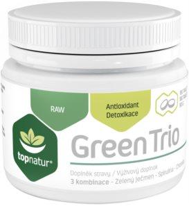 Topnatur Green Trio doplněk stravy  pro detoxikaci