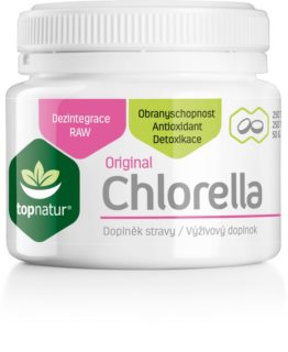 Topnatur Chlorella posílení obranyschopnosti organismu
