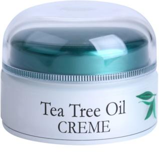 Topvet Tea Tree Oil krém  problémás és pattanásos bőrre