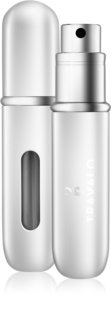 Travalo Classic Black refillable atomiser Unisex Silver 5 ml
