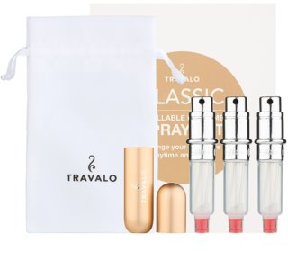 Travalo Classic HD Gift Set  Gold Unisex