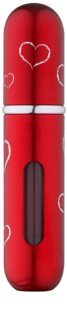 Travalo Classic HD Hearts REF unisex 5 ml  Red