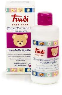 Trudi Baby Care почистващо хидратиращо мляко с екстракт от цветен прашец за деца