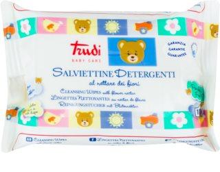 Trudi Baby Care почистващи влажни кърпички с цветен нектар
