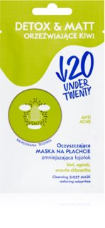 Under Twenty ANTI! ACNE Reinigungsmaske für fettige Haut