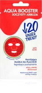 Under Twenty ANTI! ACNE Hydratisierende Maske für alle Hauttypen