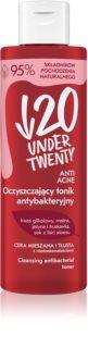 Under Twenty ANTI! ACNE lotion tonique douce pour peaux à imperfections
