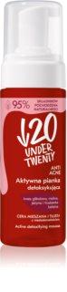 Under Twenty ANTI! ACNE mousse nettoyante pour peaux à imperfections
