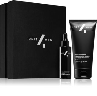 Unit4Men Barber Set Citrus & Musk lote de regalo