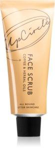 UpCircle Coffee Face Scrub Herbal Blend pleťový peeling s výtažky z kávy