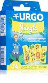 URGO Dětská náplast Jungle voděodolné kusové náplasti s motivem zvířátek