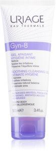 Uriage Gyn-Phy Gyn-8 Soothing Cleansing Gel Intimate Hygiene Intimhygien gel För irriterad hud