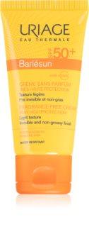 Uriage Bariésun Fragrance-Free Cream SPF 50+ слънцезащитен крем за лице без парфюм SPF 50+