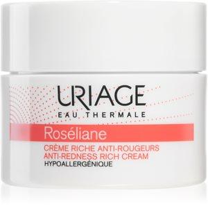 Uriage Roséliane Anti-Redness Rich Cream crema de zi cu efect de refacere pentru piele sensibila cu tendinte de inrosire