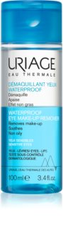 Uriage Hygiene Waterproof Eye Make-up Remover démaquillant waterproof pour yeux sensibles