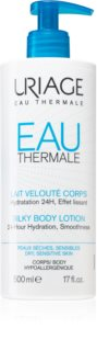 Uriage Eau Thermale Silky Body Lotion Silk Body Milk For Dry and Sensitive Skin