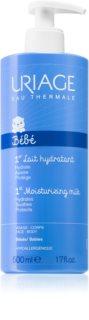 Uriage Bébé 1st Moisturizing Milk хидратиращо мляко за тяло и лице за деца от раждането им