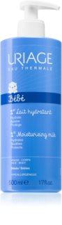 Uriage Bébé 1st Moisturizing Milk Moisturizing Face and Body Milk for Children from Birth