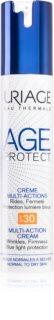 Uriage Age Protect Multi-Action Cream SPF 30 мултиактивен подмладяващ крем за нормална към суха кожа SPF 30
