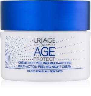 Uriage Age Protect multi-active peeling cream Night