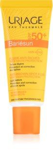 Uriage Bariésun Anti-Brown Spot Fluid SPF 50+ Fluido protector de alta proteção UV