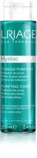Uriage Hyséac очищающий тоник для регулирования выработки кожного сала и минимизации пор с АОК (с альфа-оксикислотами)