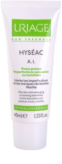 Uriage Hyséac A.I. Mattifying Cream For Oily Acne - Prone Skin