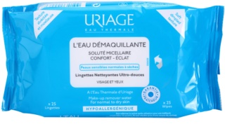 Uriage Hygiène Cleansing Wipes for Normal and Dry Skin