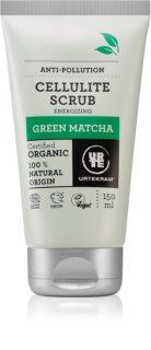 Urtekram Green Matcha antycellulitowy peeling do ciała z zieloną herbatą