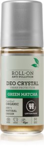 Urtekram Green Matcha deodorante roll-on con estratto di the verde