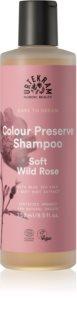 Urtekram Soft Wild Rose sanftes Shampoo für gefärbtes Haar