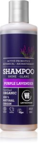 Urtekram Purple Lavender šampón pre normálne až suché vlasy